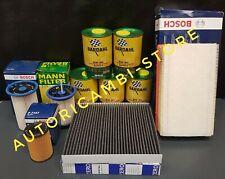 KIT FILTRI AUDI A3 1.6 TDI 77KW 81KW 85KW 2012-> + OLIO BARDAHL 5W30 XFS AV504