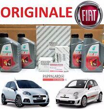 KIT TAGLIANDO FILTRI ORIGINALI + OLIO FIAT 500 595 GRANDE PUNTO PUNTO EVO ABARTH