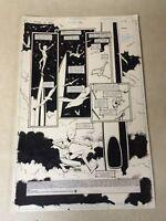 Books of Magic #36 original art TIM HUNTER 1997 VERTIGO Huon MOODY INDICIA PAGE
