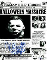 Nick Castle Signed 8x10 Photo Halloween Michael Myers The Shape w/Beckett COA