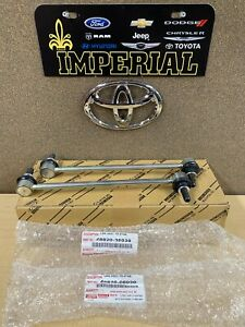 2011-2020 TOYOTA SIENNA GENUINE OEM FRONT STABILIZER SWAY BAR LINKS 4882008030