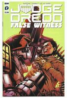 Judge Dredd False Witness #2 2020 Unread Kei Zama Cover IDW Comic Brandon Easton