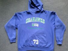 Vtg Seattle Seahawks team issued sweatshirt #73 Ray Roberts Champion jersey 2XL