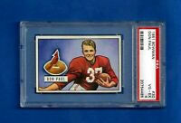 1951 BOWMAN FOOTBALL CARD # 30 DON PAUL PSA 4 VG-EX CHICAGO CARDINALS