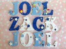 Bambini Personalizzato Lettere Di Legno Muro Porta Compleanno Pasqua Ragazzi