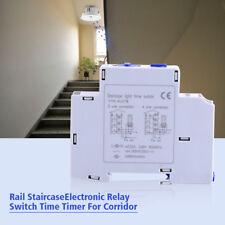 Relè Temporizzatore Luci Scale corridoio Timer Interruttore Switch 220-240V