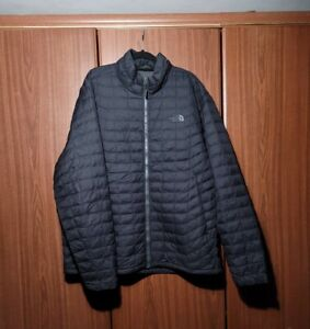 Mens The North Face Thermoball Jacket Black Size XL
