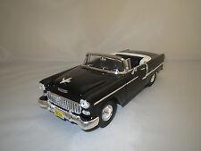 """Ertl/American Muscle  Chevrolet  Bel  Air  """"1955""""  (schwarz) 1:18  ohne Vp.!"""