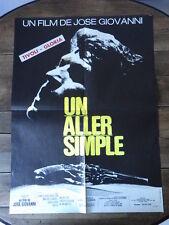 AFFICHE CINEMA (60x80) UN ALLER SIMPLE Jose Giovanni (G16)