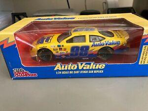 #98 Dan Doyle Auto Value 1998 Taurus Racing Champions 1:24 NASCAR diecast promo