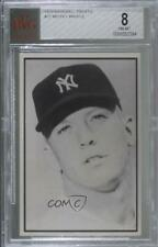 1979 BBBBGTM Baseball Favorites 1953 Bowman Extension Mickey Mantle BVG 8 HOF