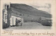 HORSE & BUGGIE, CAMPSIE HILLS, NR   Bannockburn, & Glasgow, PM  CARDROSS 1902
