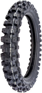 IRC Volcanduro VE33 Tire - Rear - 100/90-19,Position: Rear,Load Rating: 57