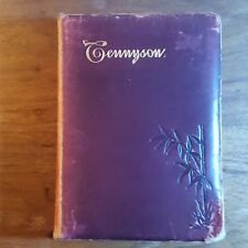 The Poetical Works of Alfred Lord Tennyson, (1885), Thomas Y. Crowell, Leather
