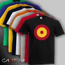 Camiseta  bandera españa circulo aviador ejercito  ENVIO 24/48h