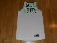 NEW 2011 ADIDAS WHITE BOSTON CELTICS MENS BLANK NBA AUTHENTIC TEAM JERSEY 2XL +2