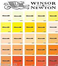 Winsor & Newton Promarkers Pens Yellow Orange Shades Markers Art Drawing Sketch