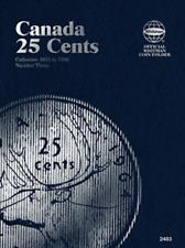 Whitman Canadian 25 Cent Coin Folder 1953-1989 Volume 3 #2483