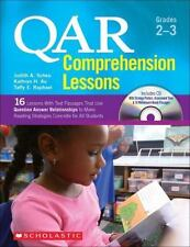 QAR Comprehension Lessons: Grades 2-3: 16 Lessons With Text Passages That Use