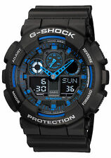 Casio G-shock GA-100-1A2ER Men's Resin Chronograph Watch