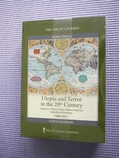 Teaching Co Great Courses DVDs       UTOPIA and TERROR in the 20th CENTURY   new