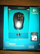 NEW Logitech VX Nano Cordless Laser Mouse for Notebooks
