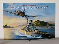 Lot of 4 Robert Taylor German Naval Aviation Art Advertising Brochures