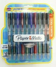 Papermate Clearpoint Mechanical Pencil 2 07 10 Count Jumbo Eraser Multi Colors