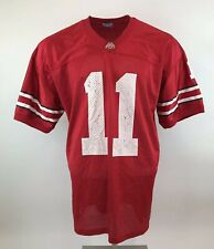 OHIO STATE BUCKEYES NCAA American Football Jersey Red 11 Size XL Mens Adult