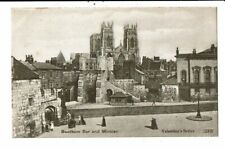 CPA-Carte Postale Royaume Uni-Bootham -   Bar and Minster  VM11060