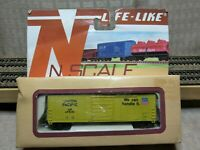 """LIFE LIKE  N Scale 50' EVANS Plug Door  Boxcar  """"UNION PACIFIC"""""""