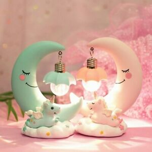 Unicorn NightLights 15cmx11cm battery operate and batteries are included.
