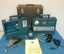 Vintage Goldak TR-5A Terrasonic Pipe Cable Locator Including Headset & Speaker
