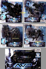 McFarlane Toys Alien VS Predator 2 Movie 5 Figure Set  New from 2005