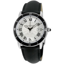 Cartier Ronde Croisiere Silver Dial Automatic Mens Watch WSRN0002