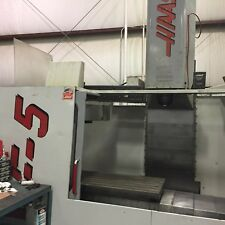Used Haas VF-5 50 Taper CNC Vertical Machining Center Mill 50x26 VMC 30HP 1999