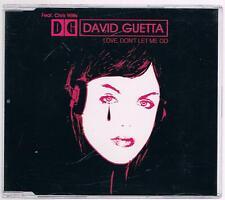 DAVID GUETTA LOVE, DON'T LET ME GO MAX CD SINGOLO SINGLE cds 5 TRACKS