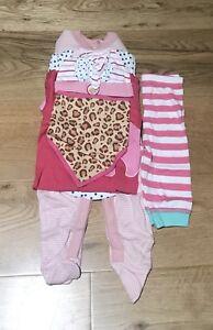 7piece Baby Girl  Giftset Bundle 3-6months.