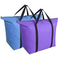 Folding Storage Bag Blanket Travel Clothes Pouch Waterproof Oxford Organizer