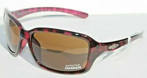 SUNCLOUD Fortune POLARIZED Womens Sunglasses Violet Havana/Brown NEW Smith