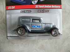 1932 FORD SEDAN DELIVERY    2009 HOT WHEELS DELIVERY SERIES   1:64   REAL RIDERS