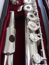 NEW Gemeinhardt 3OSB -NG1 Solid Silver Flute, Open-Hole, B-foot offset G 30SB