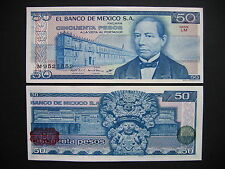 México 50 pesos 27.1.1981 serie LM (p73) UNC