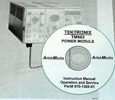TEKTRONIX TM503 Power Module Instruction Manual (Ops&Service)