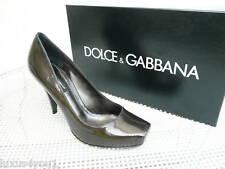 orig Dolce & Gabbana D&G Gr 36,5 Pumps High Heels Schuhe  NEU