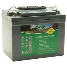 Haze 12v 33ah Pure Gel Golf Trolley Battery 36 Hole