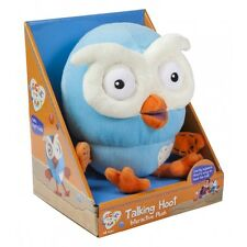 NEW PLUSH SOFT INTERACTIVE TOY from ABC TV Giggle & Hoot - TALKING HOOT 17cm