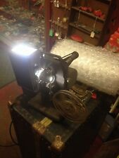 VTG KODASCOPE EIGHT-33 8 mm PROJECTOR REEL Kodak Steampunk Industrial Decor Lamp
