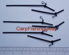Bag of 6 , Carp Mini Anti-Tangle Booms (Nylon / Black)