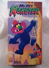 VHS My Pet Monster Escape From Monster Land 80s Cartoon Animated Toy Doll